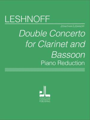 Double Concerto for Clarinet & Bassoon - Leshnoff - Score/Parts