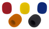 Samson - WS1C Microphone Windscreen 5-Pack - Multicolour