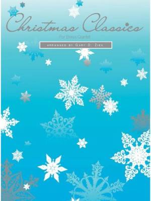 Kendor Music Inc. - Christmas Classics For Brass Quintet - Ziek - 1st Bb Trumpet - Book