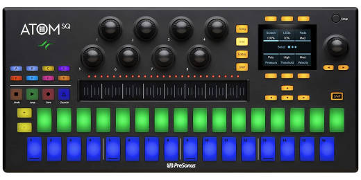 PreSonus - ATOM SQ MIDI Keyboard/16-Pad Step Sequencer