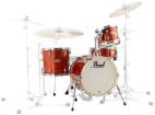 Pearl - Midtown Series 4-Piece Shell Pack (16/10/13/SD) - Orange Crush