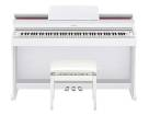 Casio - AP-470 88-Key Digital Piano with Bench - White