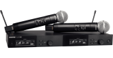 Shure - SLXD24D/SM58 Dual Wireless System with 2 SLXD2/58 Handheld Transmitters - H55