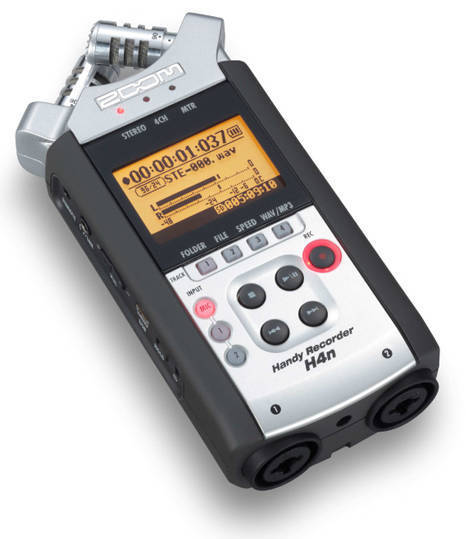 zoom h4n handheld audio recorder long mcquade musical instruments. Black Bedroom Furniture Sets. Home Design Ideas