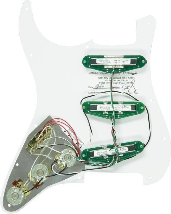 Dimarzio Billy Corgan Pre-wired Set - White