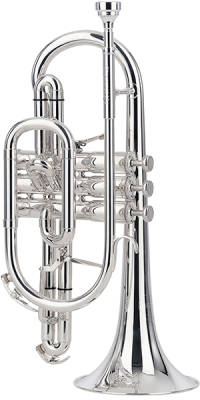 Sovereign Bb Silver Plated Cornet