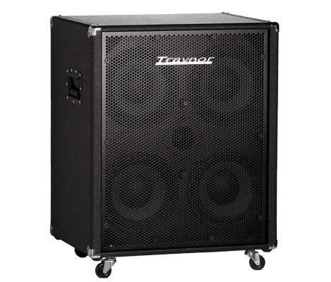 800 Watt 4x10 Bass Cabinet - 4 ohm Configuration