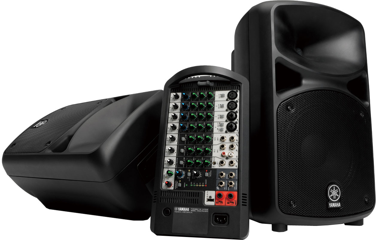 Stagepas 600i Portable PA System