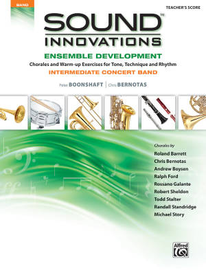 Sound Innovations for Concert Band: Ensemble Development for Intermediate Concert Band - Conductor's Score - Book