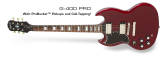 Epiphone - SG Standard Pro in Cherry - Left-Handed