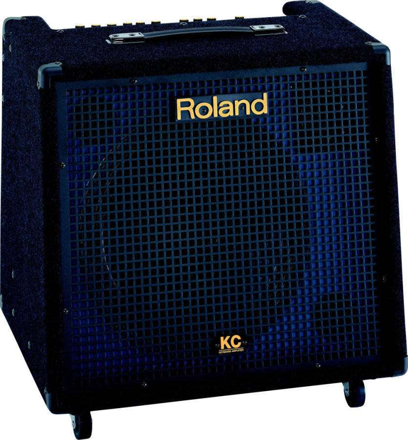 roland stereo mixing keyboard amplifier long mcquade musical instruments. Black Bedroom Furniture Sets. Home Design Ideas