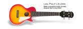 Epiphone - Les Paul Ukulele with Electronics - Cherry Sunburst