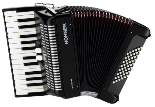 Piano Accordion - Black