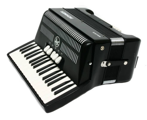 Piano Accordion 34 Note - Black