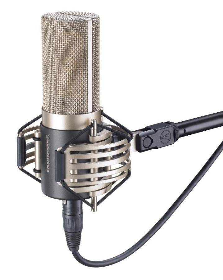 Audio-Technica AT5040 Large Diaphragm Cardioid Condenser Microphone - Long & McQuade Musical Instruments