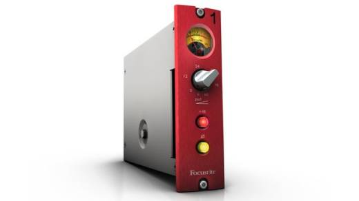 Red 1 500 Series Microphone Preamp