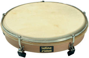 Latino 13 Inch Hand Drum, Calfskin Head