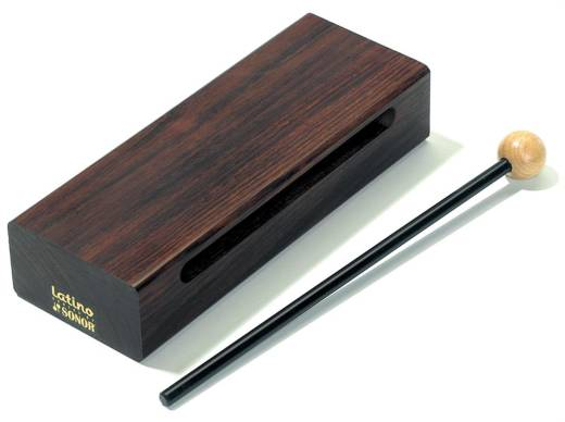 Latino Wood Block, Rosewood (18cm)