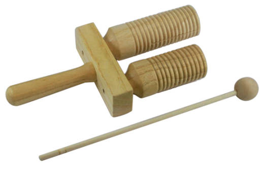 Mini Wooden Agogo 6.5