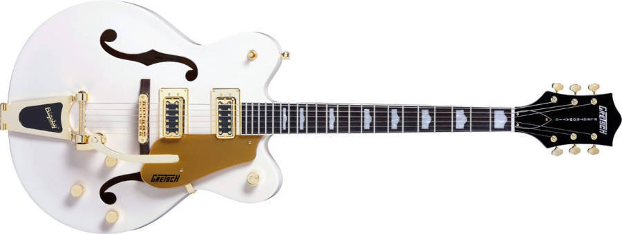 Gretsch Guitars G5422tdcg Electromatic Hollow Body Guitar Snow Crest White Long Amp Mcquade