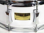 Pork Pie Percussion - 6 x 14 Inch Maple/Rosewood Snare - White Satin