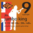 Rotosound - Jumbo King Phosphor Bronze  Acoustic Guitar Set 9-48