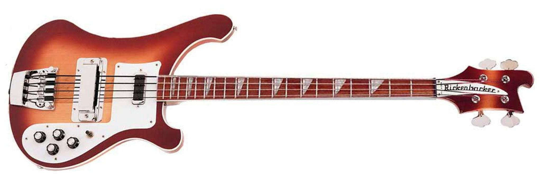 4003 Series Electric Bass - Fireglo