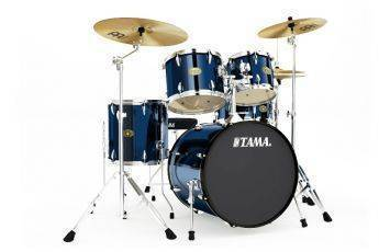 tama imperialstar 20 inch bass drum kit midnight blue long mcquade musical instruments. Black Bedroom Furniture Sets. Home Design Ideas