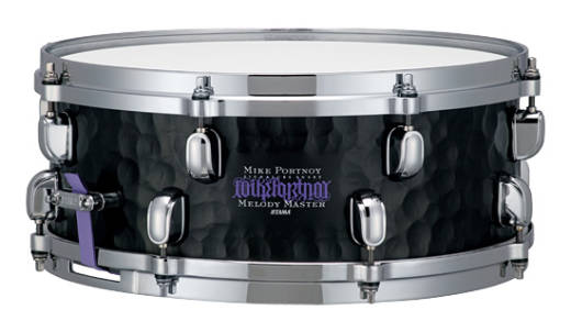 Mike Portnoy Signature Hammered Steel Snare - 14 x 5.5