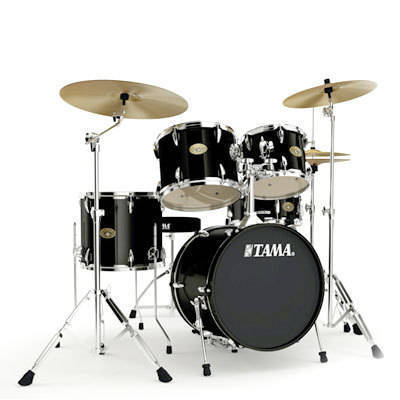 tama imperialstar 18 inch bass drum kit black long mcquade musical instruments. Black Bedroom Furniture Sets. Home Design Ideas