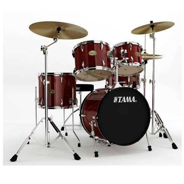 tama imperialstar 18 inch bass drum kit hairline copper long mcquade musical instruments. Black Bedroom Furniture Sets. Home Design Ideas