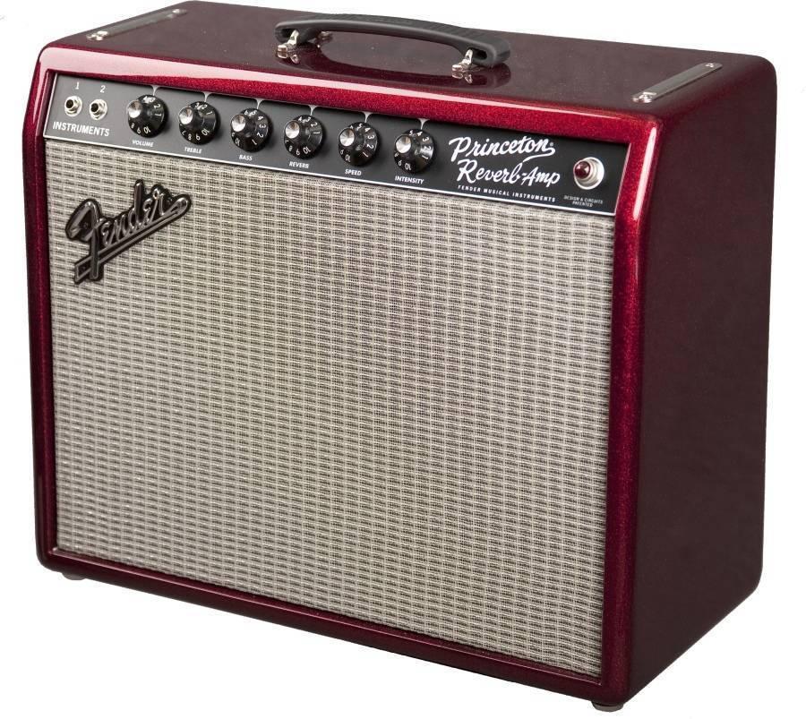 fender 65 39 princeton reverb fsr reissue amp red sparkle long mcquade musical instruments. Black Bedroom Furniture Sets. Home Design Ideas