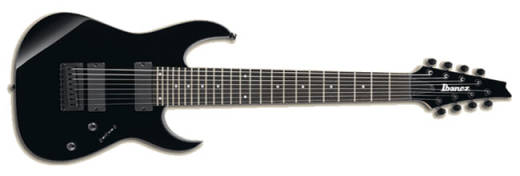 RG 8 String Electric Guitar - Black
