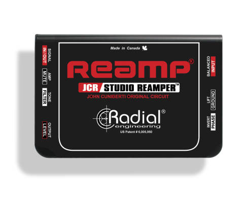 JCR Reamp Passive Re-amp Device
