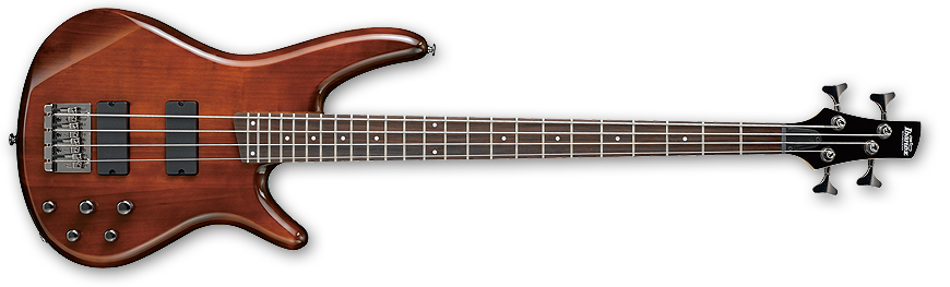 Ibanez Gio 4 String Electric Bass - Walnut - Long & McQuade ...