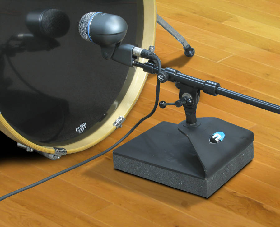 Primacoustic Kickstand Isolated Bass Drum Mic Stand Long