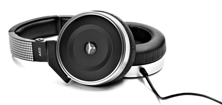 AKG 'Tiesto' Closed Back DJ Headphones - Long & McQuade