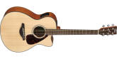 Yamaha - FSX800C Small Body Acoustic-Electric Guitar - Natural