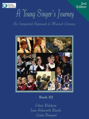A Young Singer's Journey, Book 3 (2nd Edition) - Baldwin/Beaupre/Bartle - Book/Audio Online