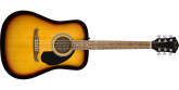 Fender - FA-125 Dreadnought, Walnut Fingerboard - Sunburst