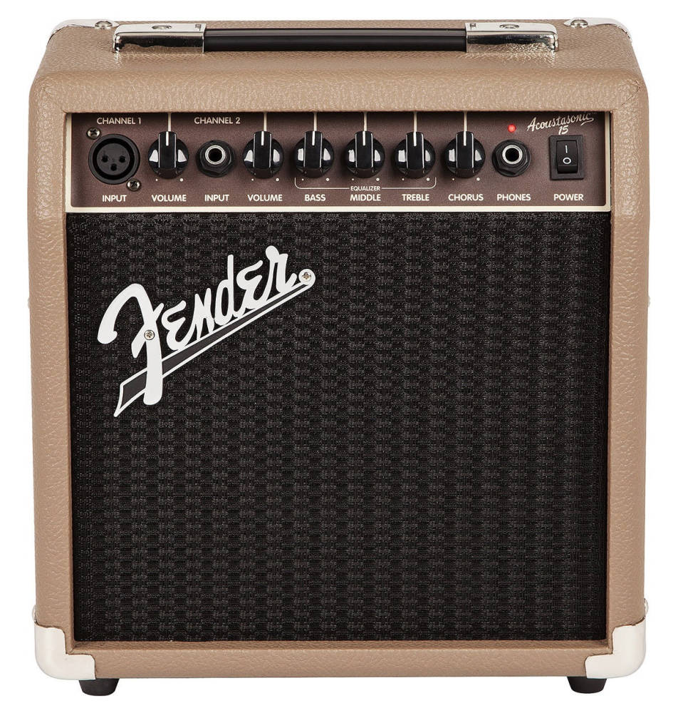 fender acoustasonic 15w acoustic guitar amp long mcquade musical instruments. Black Bedroom Furniture Sets. Home Design Ideas