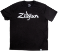 Zildjian - Classic Logo T-Shirt, Black - Medium