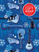 Hal Leonard - Hal Leonard Wrapping Paper: Blue Guitars & Snowflakes Theme - 3 Sheets (24x36)