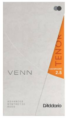 VENN Synthetic Tenor Saxophone Reed - 2.5