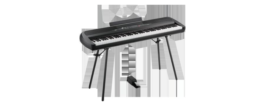 korg digital piano w  speakers  u0026 stand