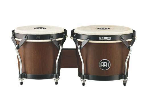 Headliner Designer Series Wood Bongo - Walnut Brown