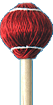 Cord Rattan Mallet Soft ( Red )24R