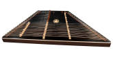 Dusty Strings - D650 Chromatic Hammered Dulcimer Outfit with Black Soundboard