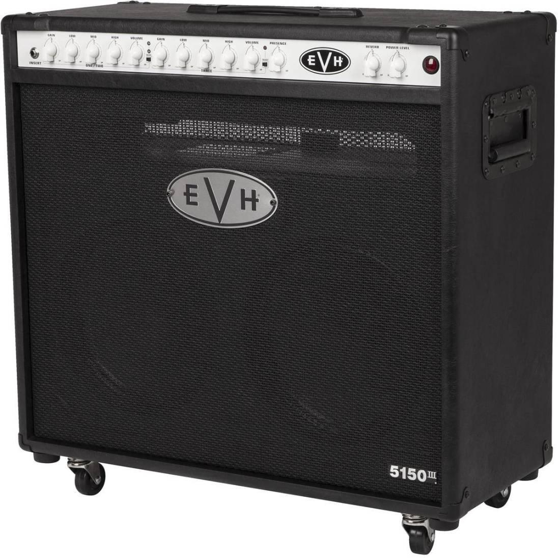 evh 5150iii 2x12 50w combo amp black long mcquade musical instruments. Black Bedroom Furniture Sets. Home Design Ideas