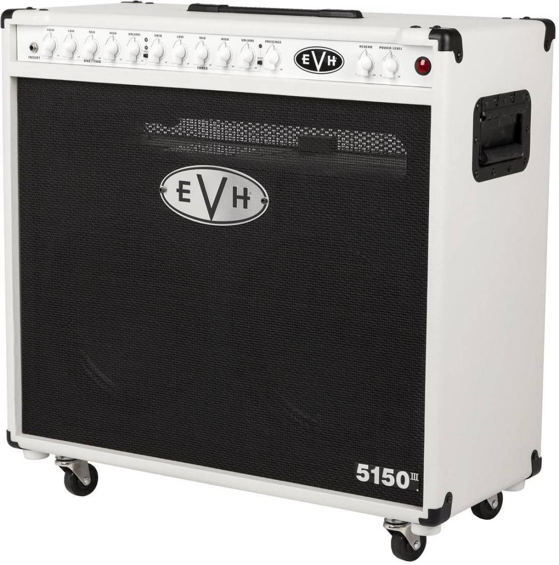 evh 5150iii 2x12 50w combo amp ivory long mcquade musical instruments. Black Bedroom Furniture Sets. Home Design Ideas